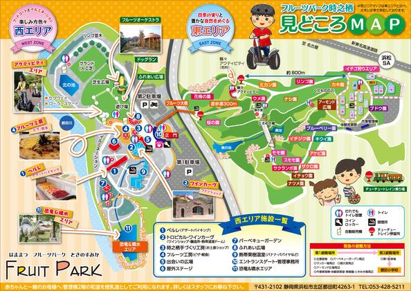 iN HAMAMATSUCOM Activity Hamamatsu Fruit Park Tokinosumika