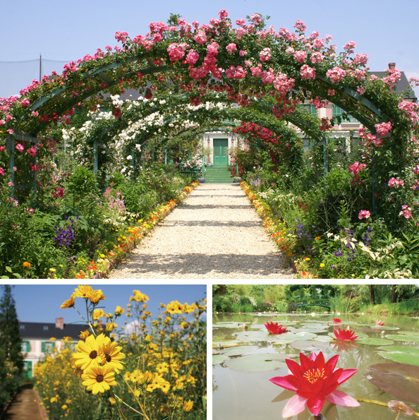 It Was Built On The Concepts Of A Flower Garden And Water To Resemble Gardens Painted By Artist Claude Monet In Giverny France
