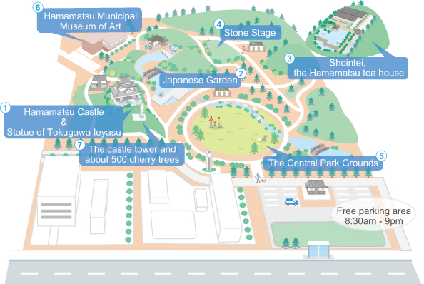 iN HAMAMATSUCOM Activity Hamamatsu Castle Park