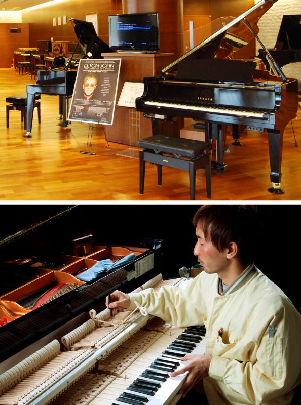 YAMAHA piano factory tour | iN HAMAMATSU COM