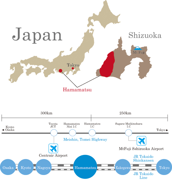 where is hamamatsu in hamamatsucom