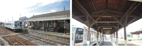 遠州森駅と天竜二俣駅